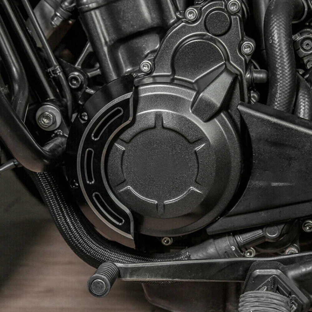 JAER CNC Заготовка чехол для левого двигателя крышка статора защита от крушения слайдера для Honda CMX500 CMX300 Rebel CMX 300 500 2017-2020