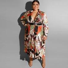 Женское платье миди с поясом и отложным воротником