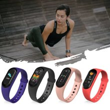 Men & Women Smart Bracelet Watch Waterproof Health Monitoring Color Screen Music Sports