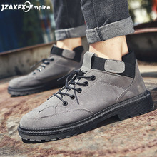 Fashion Men Casual Shoes New Spring Men Flats Lace-up Male Suede Oxfords Men Leather Shoes zapatillas hombre forudesigns fashion denim animals brand design men s casual leather shoes breathable lace up flats lesisure male oxfords shoes