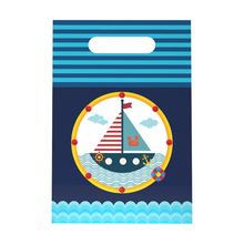 Nautical themed party gift bags holiday gifts children's bir
