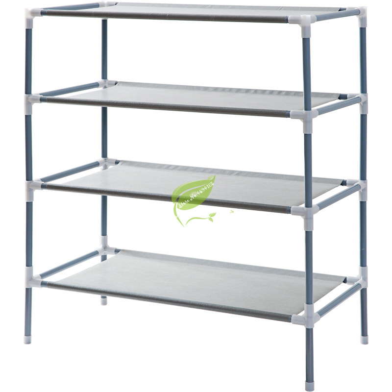 Simple Modern Shoe Rack Multi-layer Non-woven Simple Multifunctional Storage Rack Dormitory Shoe Cabinet Furniture