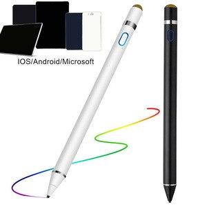 Uniwersalny pojemnościowy rysik ekran dotykowy pióro, nadaje się do ipada ołówek Apple ołówek 1 Huawei stylus IOS Andriod tablet długopis telefon