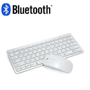 Image 1 - Bluetooth keyboard mouse combo with multimedia function wireless connection for Android/Windows tablet PC computer
