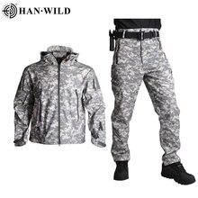 Han wild tad тактические куртки мужская куртка с мягкой ракушкой