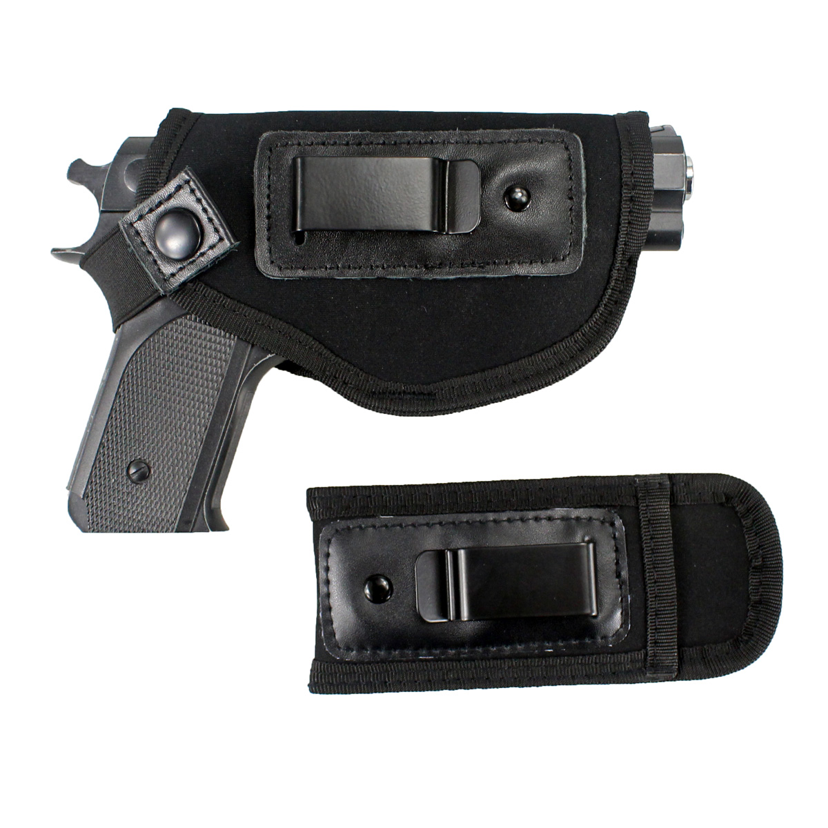 Image 5 - Tactical Concealed Carry Universal Neoprene IWB Holster with Extra Mag Holster for Right Hand-in Holsters from Sports & Entertainment