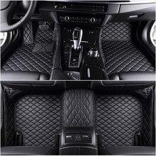 Personalizado 5 assento esteiras do assoalho carro para dodge challenger carregador rt ram 1500 2500 durango rt nitro calibre viagem todos os modelos esteiras carro