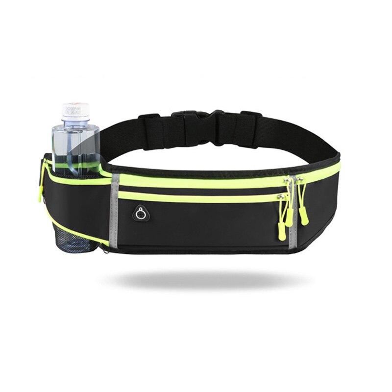 CWIKLES Running Bag Waist Bag Phone Holder Sports Bag for Men Women Waterproof Gym Bag Hold Water Cycling Running Belt