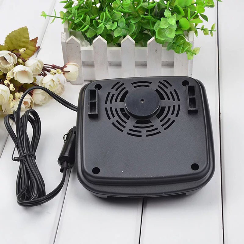 150W Car Portable 2 In 1 Ceramic Heating Cooling Heater Fan 12.5*14.5*5.5cm