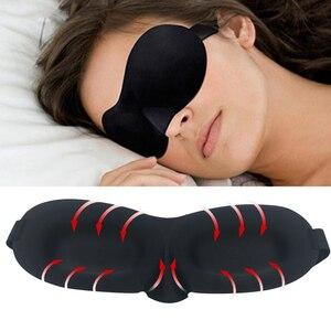 Image 3 - 3D Sleeping mask Travel Rest Aid Eye Sleep Mask Cover Eye Patch Sleeping Mask Case Blindfold Eye Mask Eyeshade Massager