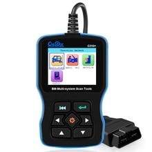 OBD2 сканер для BMW Подушка безопасности/ABS/ SRS e46 e90 e60 e39 все системы диагностический инструмент Creator C310 + Pro масло Сервис Сброс кодовый считывател...