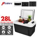 28L автомобиля домашний автоматический холодильник мини холодильники DC12/24V морозильник охладитель нагреватель Утепленная одежда свежий для...