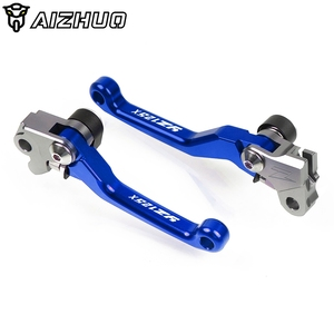 Image 2 - For Yamaha YZ125X CNC Motorcycle Pivot Brake Clutch Levers Dirt Pit Bike Levers For Yamaha YZ125X YZ 125X YZ 125 X 2017 2018