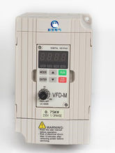 Yeni vfd015m21a VFD-M değişken frekans ac motor sürücü 1 faz 220v 1.5kw 2hp 7a 400hz