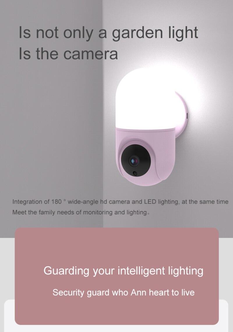 parede da câmera visão noturna sem fio