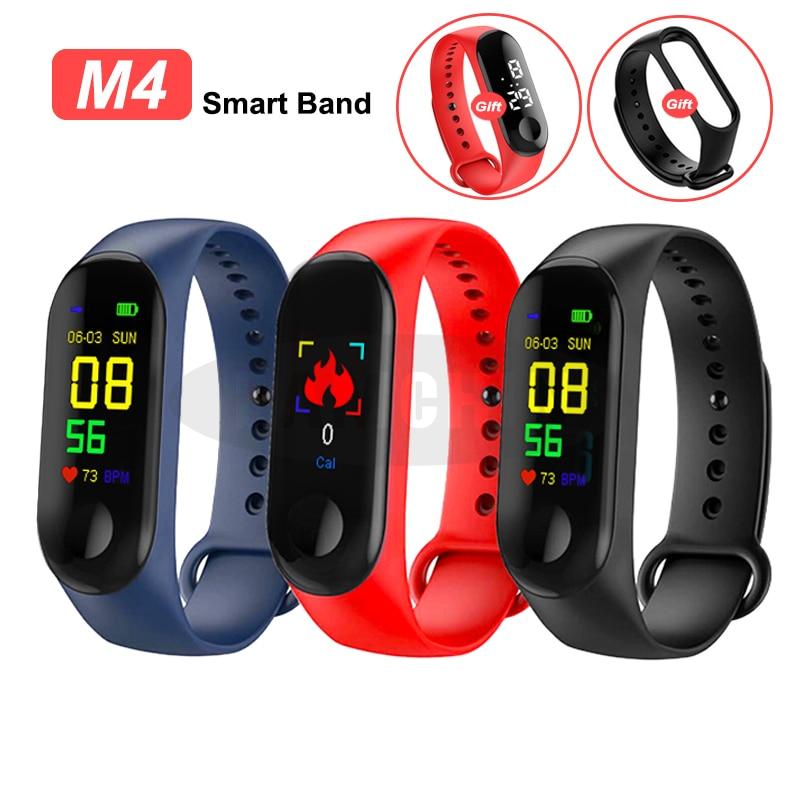 Smart Band Fitness Tracker Watch Sport Bracelet Heart Rate Blood Pressure Smartband Monitor Health Wristband Fitness Tracker
