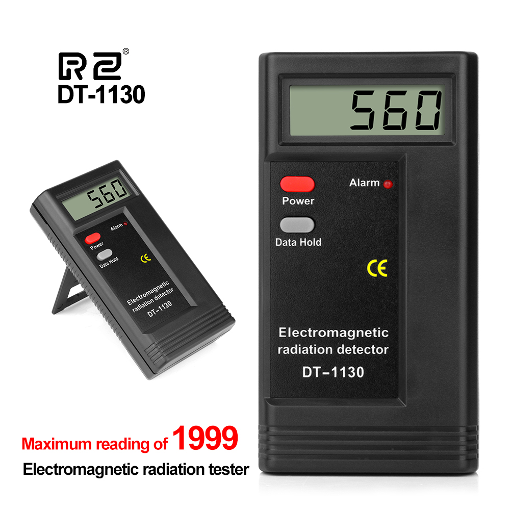 RZ Electromagnetic Field Radiation Dosimeter Tester Emf Meter Handheld Portable Geiger Counter Electric Emission Dosimeter