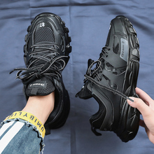 2019 New Fashion Men Sneakers Zapatos De Hombre Air Mesh Breathable Men Casual R