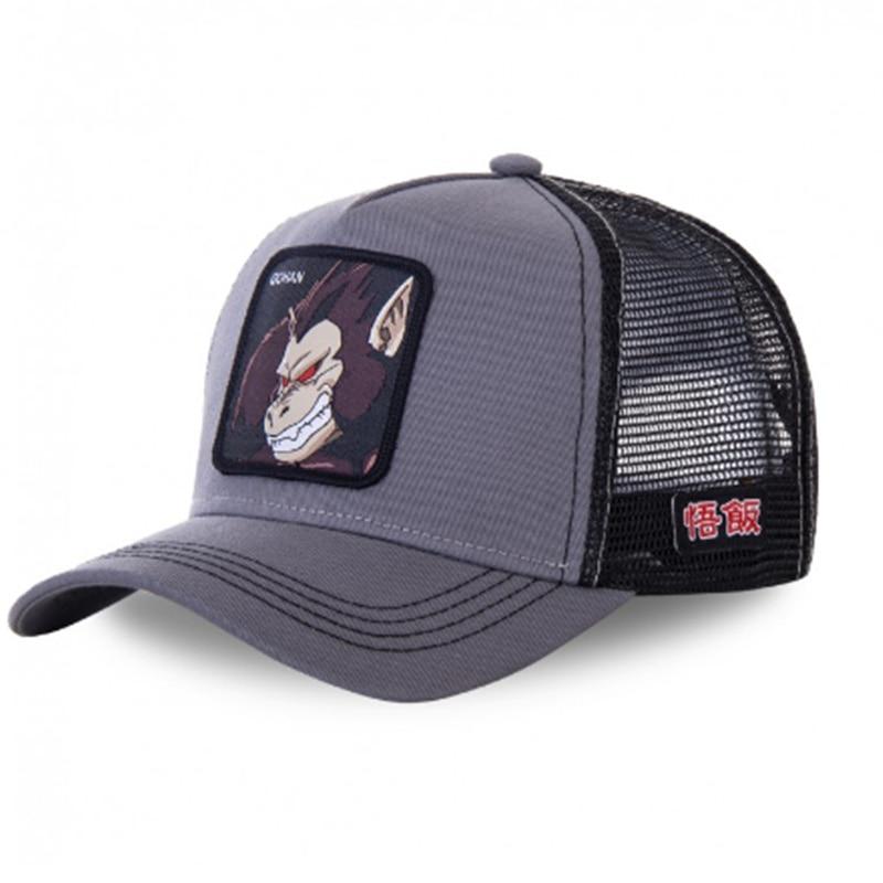 New Brand Anime Dragon Ball Gohan Snapback Cotton Baseball Cap Men Women Hip Hop Dad Mesh Hat Trucker Hat Dropshipping