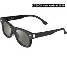 2020 New Adjustable Dimming Sunglasses LCD Original Design Solar Power Supply, F