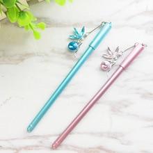 30pcs/set Angel Gel Pen Pendant Neutral Stationery Girl Wholesale Kawaii Stationary Pens Plastic