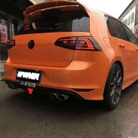 For Volkswagen GOLF7 MK7 2014 2018 Rear Roof Spoiler High Quality ABS Material Primer Color Car Tail Wing Decoration For GOLF 7