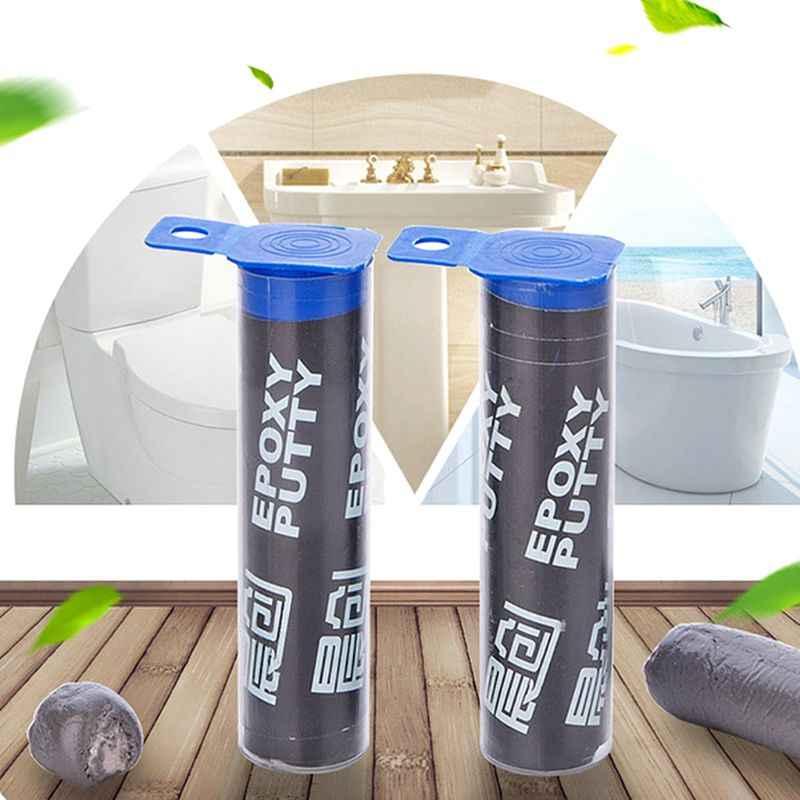 Sellador de plomería, masilla epoxi moldeable, sellador de tubos, pegamento de reparación de tuberías de agua de barro de silicona