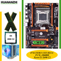 Материнская плата HUANANZHI deluxe X79 LGA2011  процессор Xeon E5 2690 C2 RAM 64G (4*16G) DDR3 1333 МГц RECC