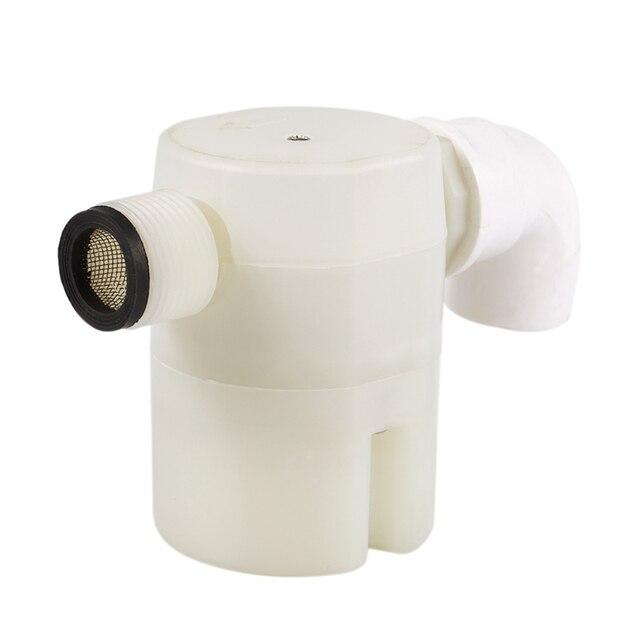 Vanne de contrôle du niveau deau | Entrée latérale de 3/4 pouces, robinet à flotteur automatique intégré/monté sur lintérieur pour réservoir deau solaire piscine