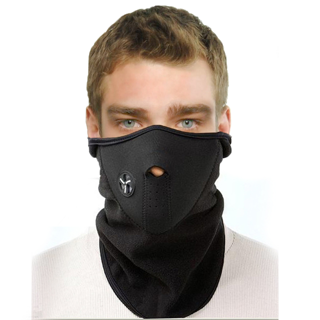 Unisex Motorcycle Mask Warmer Windproof Dustproof Warm Cycling Ski Maska Climbing Mountain Masks Outdoor Sports Balaclava