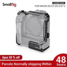 SmallRig Z6 Kamera Käfig für Nikon Z6/Z7 mit MB-N10 Batterie Grip Funktion Nato Schiene Schuh Halterung Für Mikrofon DIY Optionen 2882