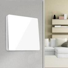 Kablosuz uzaktan kumandalı anahtar kablo ücretsiz kablosuz uzaktan kumanda anahtarı öz güç kablosuz anahtarı AC duvar paneli pil