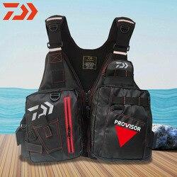 2020 Man Reflective Fishing Life Jacket Vest UNISEX Large Size Multi-Function Multi Pocket Outdoors High Buoyancy Fishing Vest