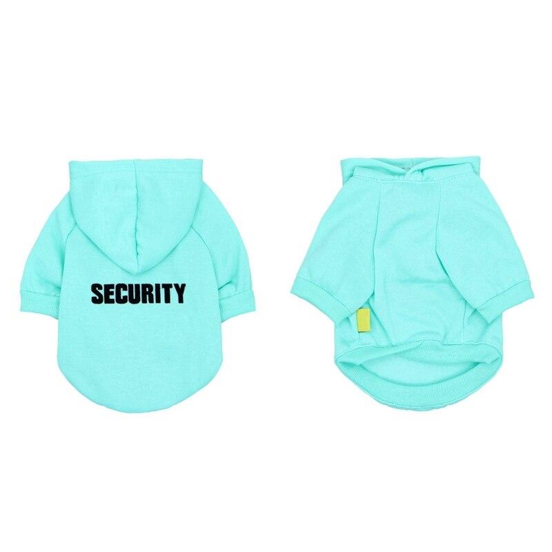 Security Dog Cat Clothes Pet Cat Coats Jacket Hoodies For Cats Dog Outfit Warm Pet Clothing Rabbit Animals Pet Sweatshirt 17