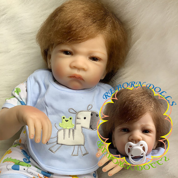 20'' Series SDK Lifelike Girl Reborn Baby Doll Costume Accessories Set Girl's Birthday Gift - Cloth Body (SDK-137R5) фото