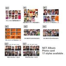 NCT Photo album carte mode Kpop Nct 127 rêve 2020 signature photocarte haute qualité Kpop NCT2020 photocarte lomo carte