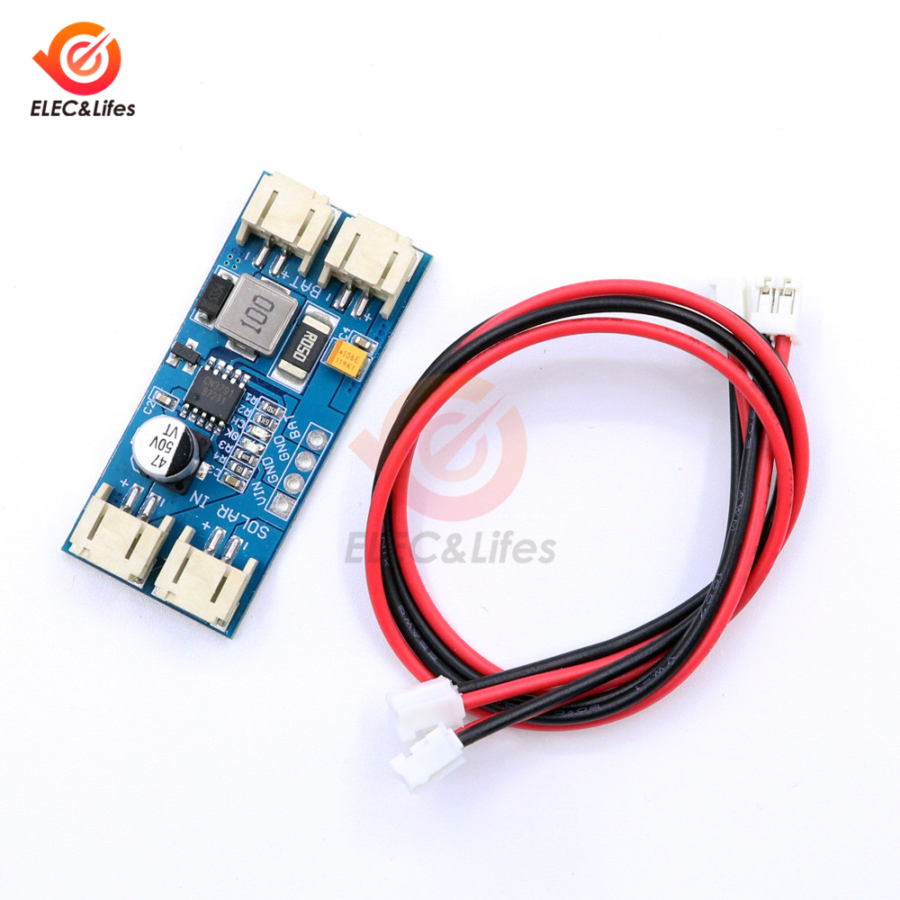 1 элемент литиевой батареи зарядки 3,7 V 4,2 V CN3791 MPPT панели солнечных батарей регулятор модуль контроллера 6V 9V 12V|Солнечные контроллеры|   | АлиЭкспресс