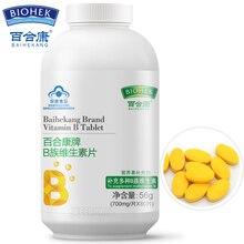 Природный витамин B комплекс B1 B2 B6 B12 Мультивитамин B для взрослых VB для снятия усталости пищеварение Предотвращение выпадения волос уход за волосами
