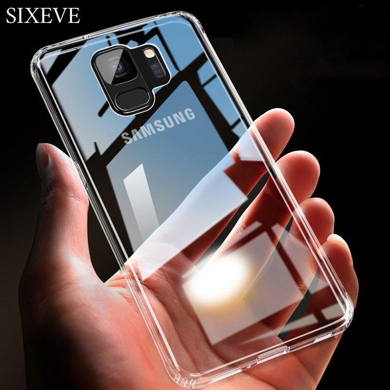 Жесткий пластиковый чехол для телефона samsung S10 S9 S8 S7 S6 Edge Note 5 8 9 A6 A7 A8 Plus J4 J6 J8 2018 A10 A30 A50 Сверхмощный Чехлы      АлиЭкспресс