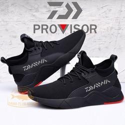 2020 nova daiwa homens sapatos ao ar livre antiderrapante sapatos de pesca respirável dawa ao ar livre tênis de corrida sapatos de escalada sapatos casuais