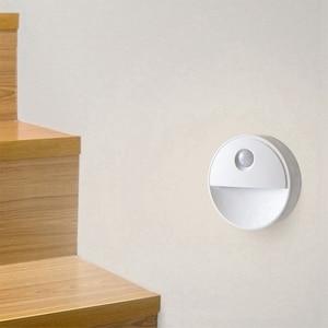 Image 4 - PIR Motion Sensor LED Novelty verlichting Gevoelige Muur Plafond nachtlampje Kabinet lamp Voor Hal Pathway 2led Nieuwigheid verlichting