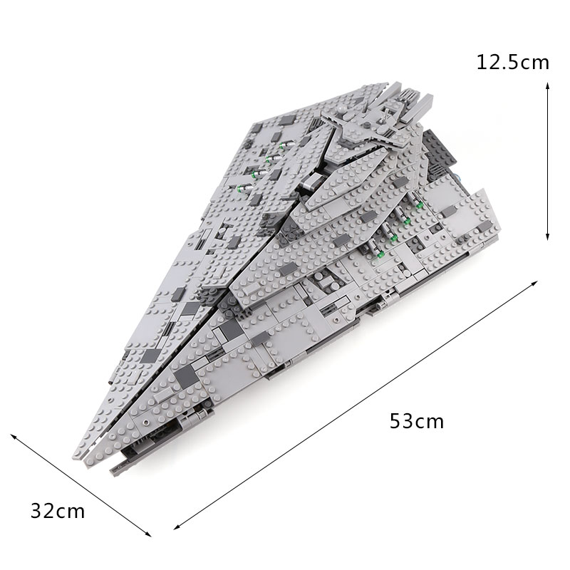 05131 Star Wars series the Super Destroyer model Compatible with Legoing 75190 Building Block Bricks Developmen Toys Children in Blocks from Toys Hobbies