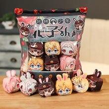 Hanako-kun – poupée en peluche, jouet pour enfants, pendentif Hanako, oreiller en peluche doux, dessin animé, coussin, jouets, 6 pièces/ensemble