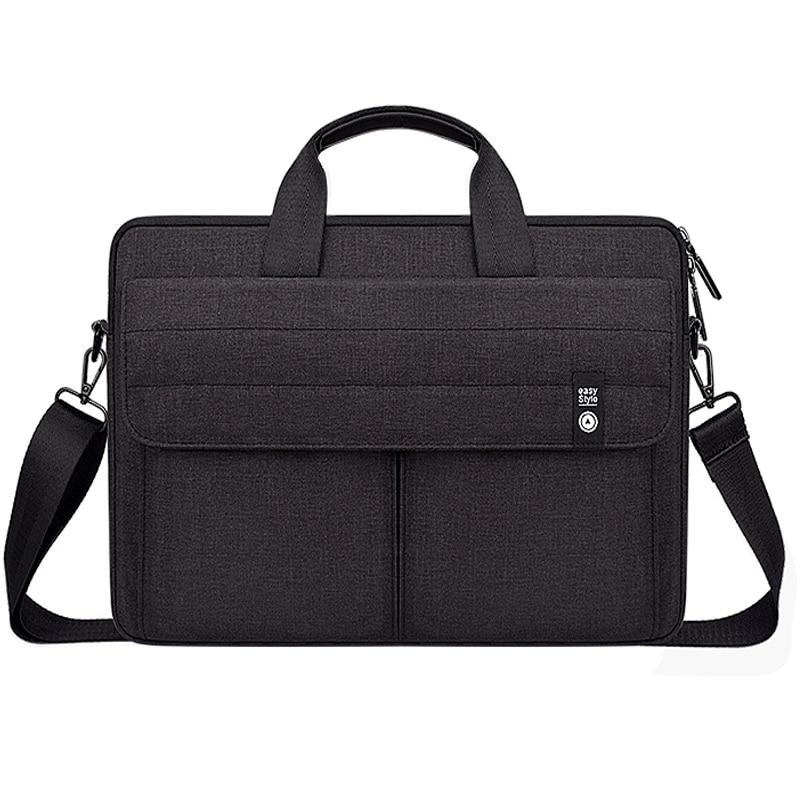 Nylon Vintage Laptop Case Bag for Men Women 13 14 15 inch Notebook Shoulder Bag For Macbook pro Acer HP ASUS Xiaomi|Laptop Bags & Cases| |  - title=