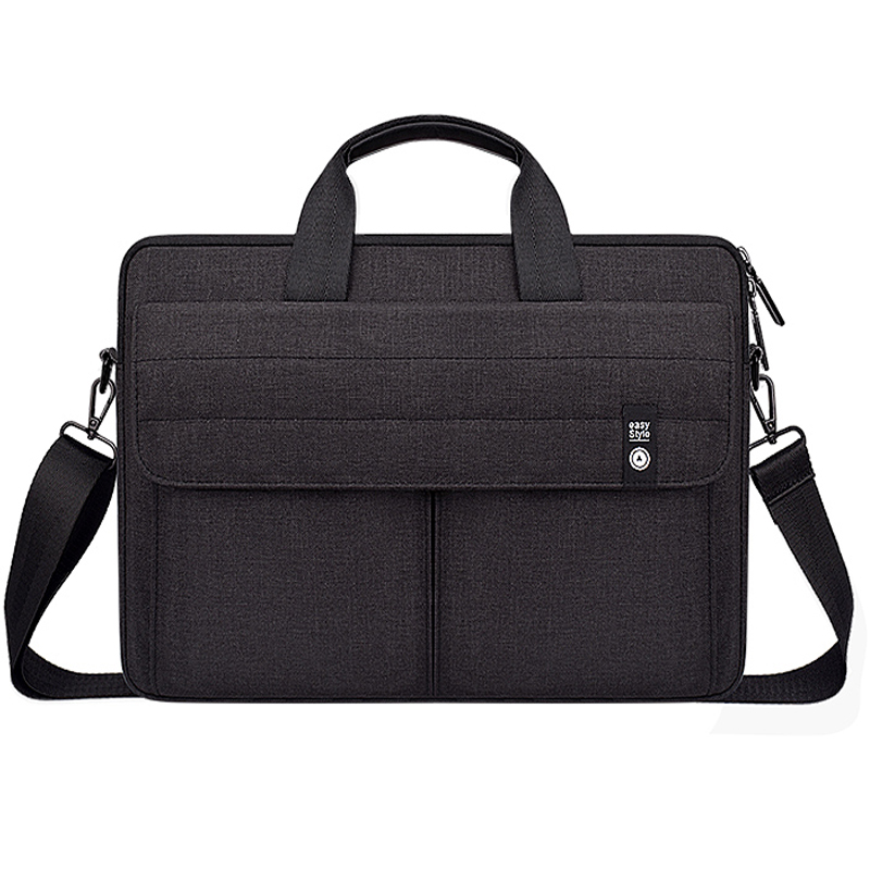 Nylon Vintage Laptop <font><b>Case</b></font> Bag for Men Women 13 14 <font><b>15</b></font> inch <font><b>Notebook</b></font> Shoulder Bag For Macbook pro Acer HP ASUS <font><b>Xiaomi</b></font> image