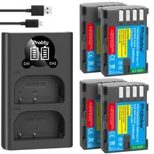 2300mAh DMW BLF19 DMW BLF19 BLF19E DMW BLF19e DMW BLF19PP 배터리 + 파나소닉 Lumix GH3 GH4 GH5 G9 용 LED 듀얼 USB 충전기