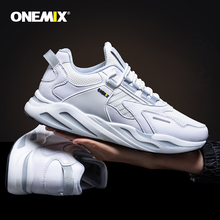цены ONEMIX New Men Running Shoes Comfortable Casual Sneakers Men Outdoor Training chaussures de sport homme Shoes Walking Shoes