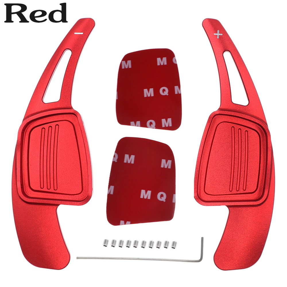 Paletas de cambio de volante de coche, accesorios de aluminio para Audi A3 A4L A5 S3 S4 Q2 Q5 Q7 S3 S4 TT TTS