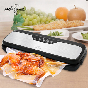 Image 2 - מזון ואקום אוטם מכונת 220V 110V עבור מזון שומר עם משלוח שקיות ואקום פקר מכונת בית חשמלי ואקום אוטם אריזה
