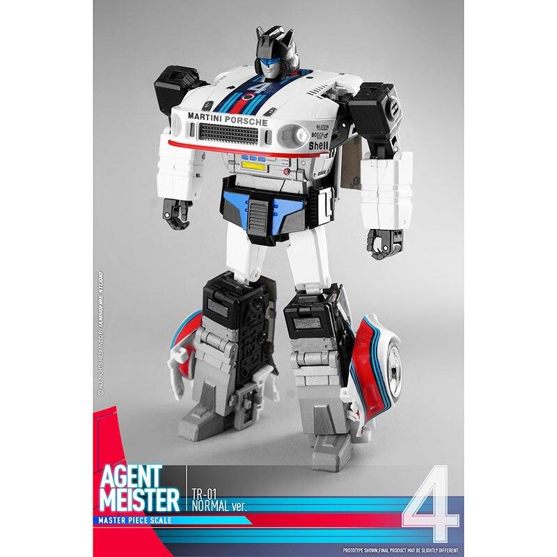 ZW Transformers Toy Jazz G1TR-01 MP Proportional Transform Reversion Child's Birthday Gift